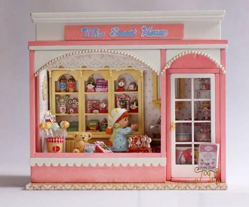 糖果屋 (包声控灯及音乐盒)
